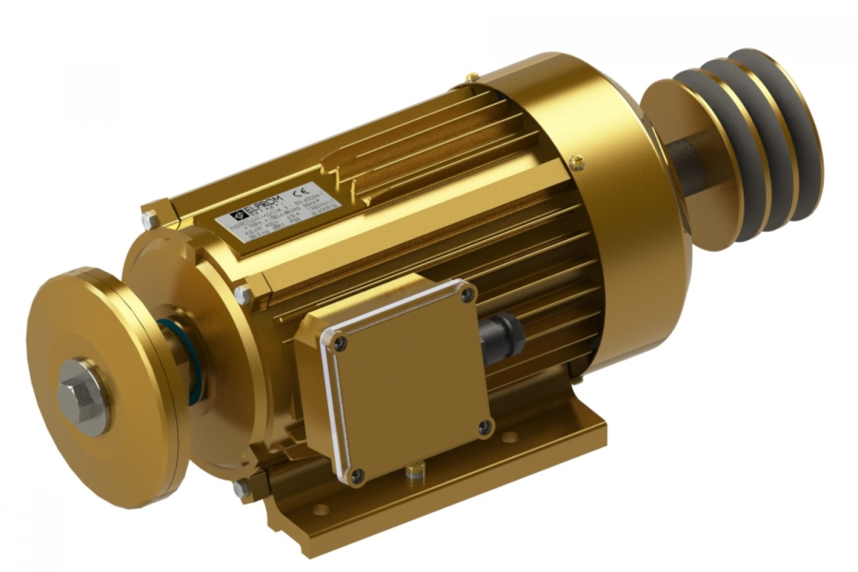 Electric motors without brake