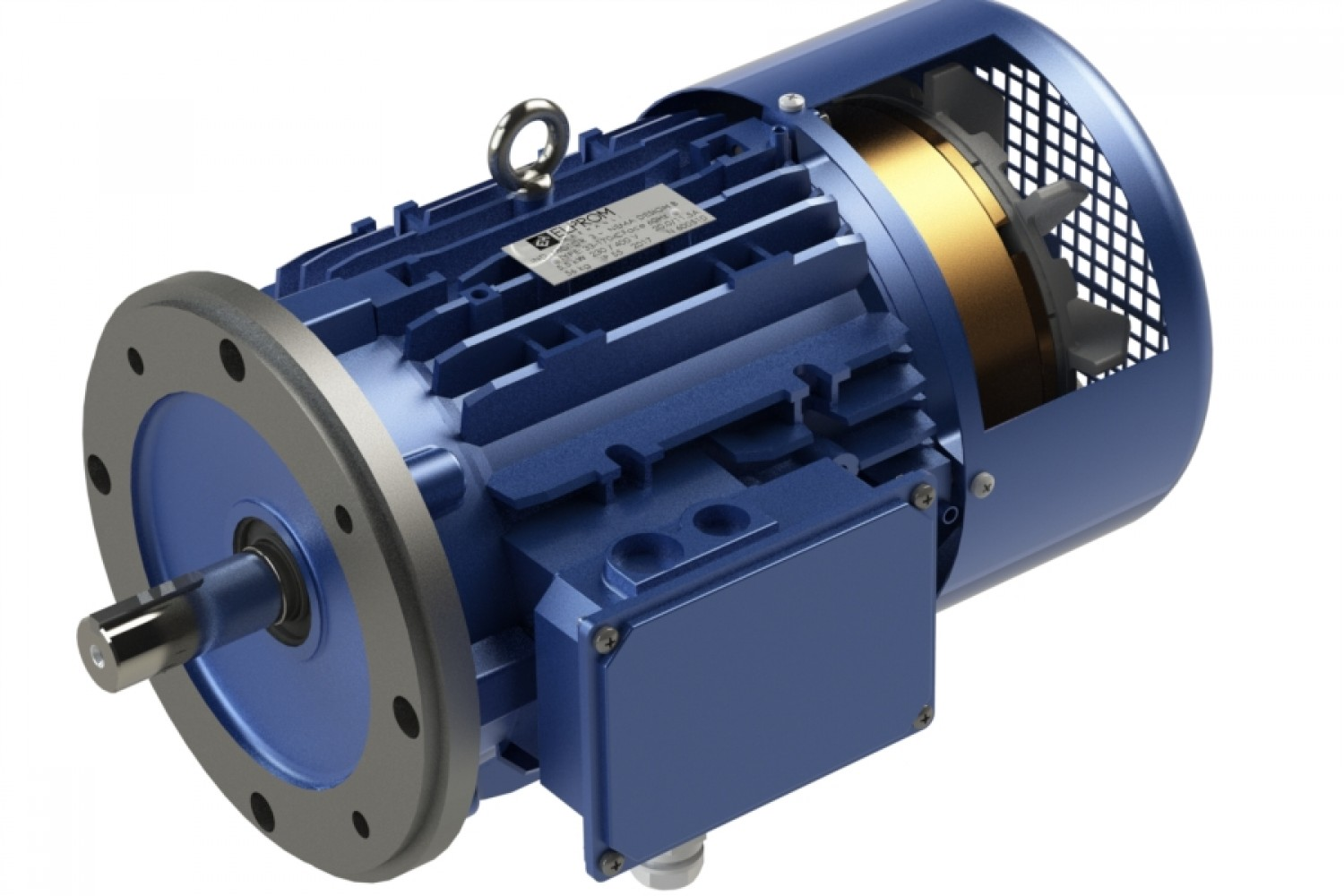Three-phase NEMA motors