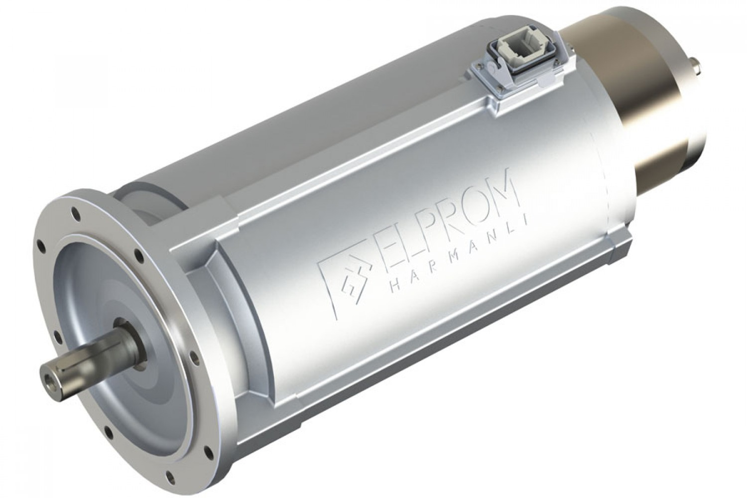 Motors with shaft-mounted or built-in encoder