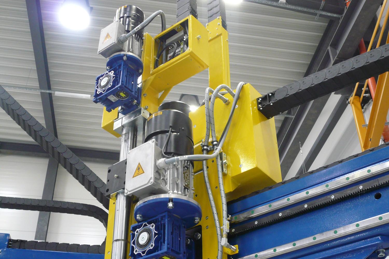 Машини, работещи с мотори от Елпром Харманли
