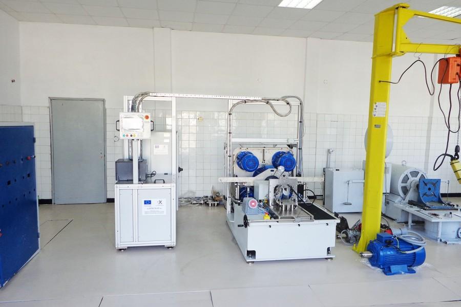 Нов лабораторен стенд