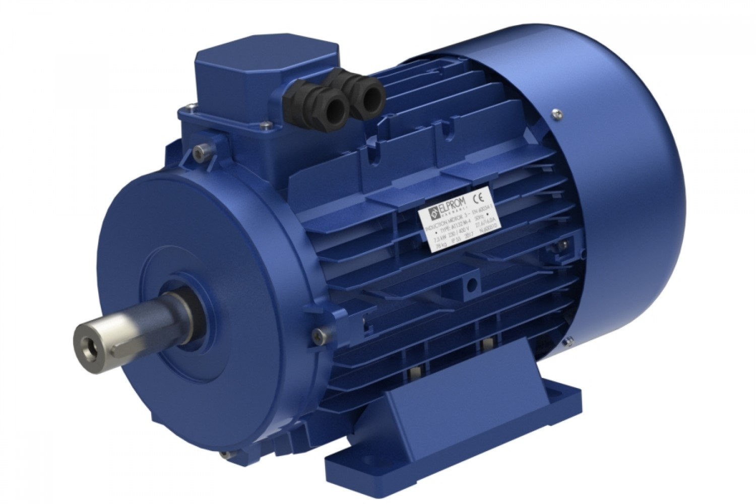 Three-phase electric motors IE3