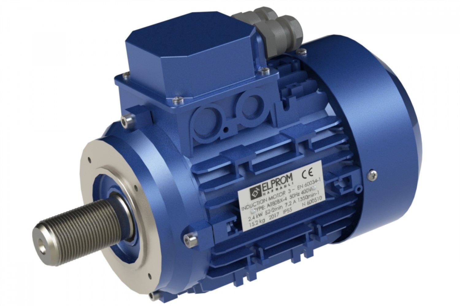 Motors with housing for garage equipment