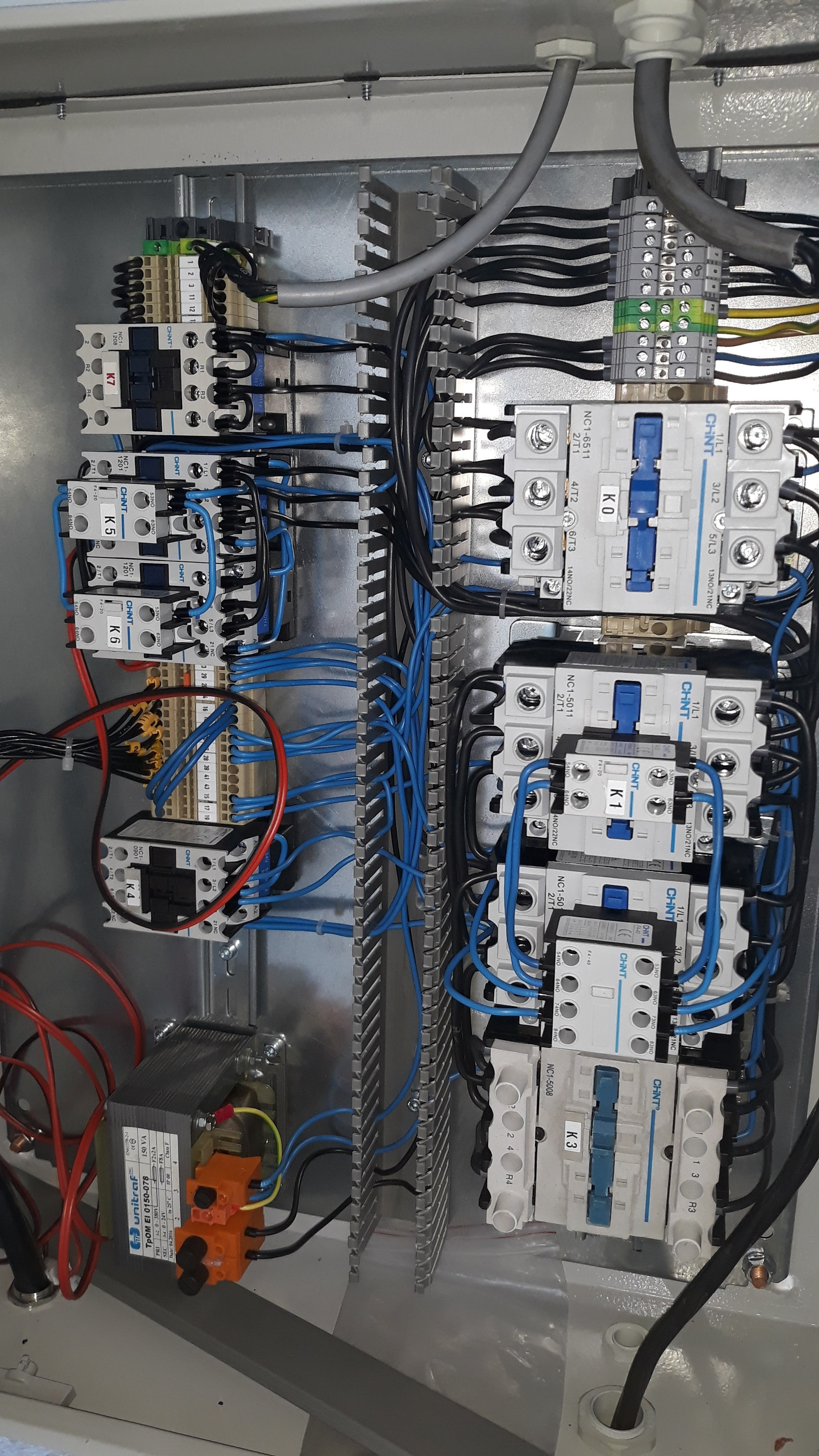 Electric Hoist Load Testing Facility completed