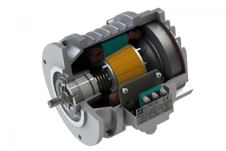 Eлектродвигатели с конусен  ротор и вградена спирачка