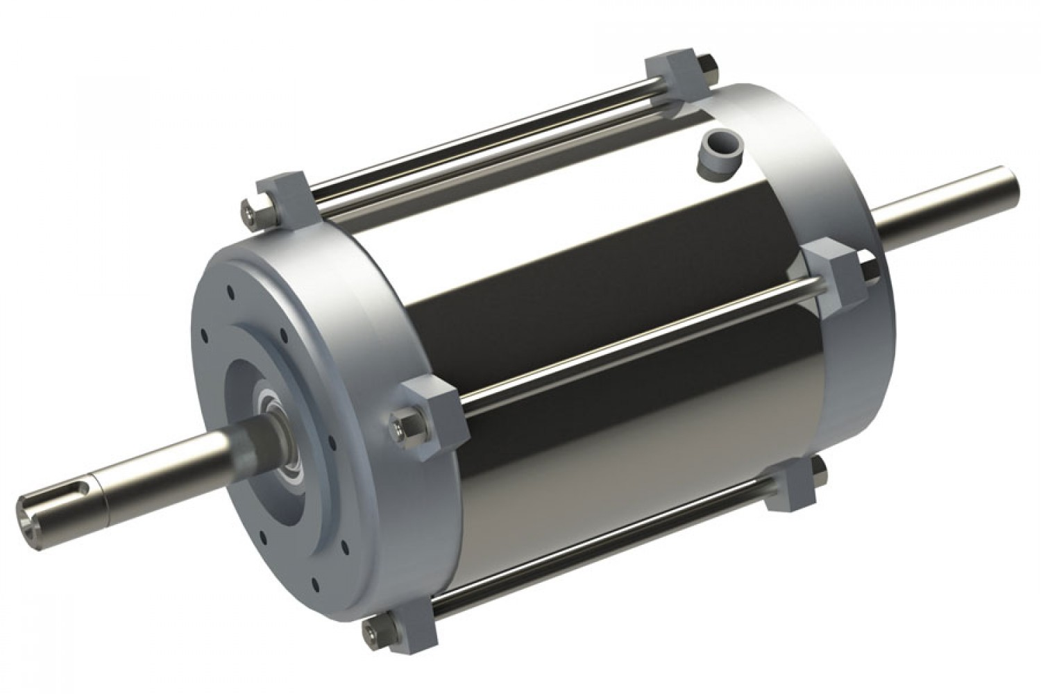 Double-sided shaft motors