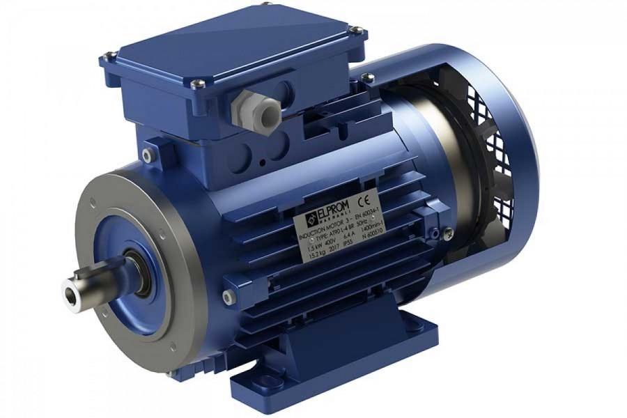 Електродвигатели с електромагнитна спирачка
